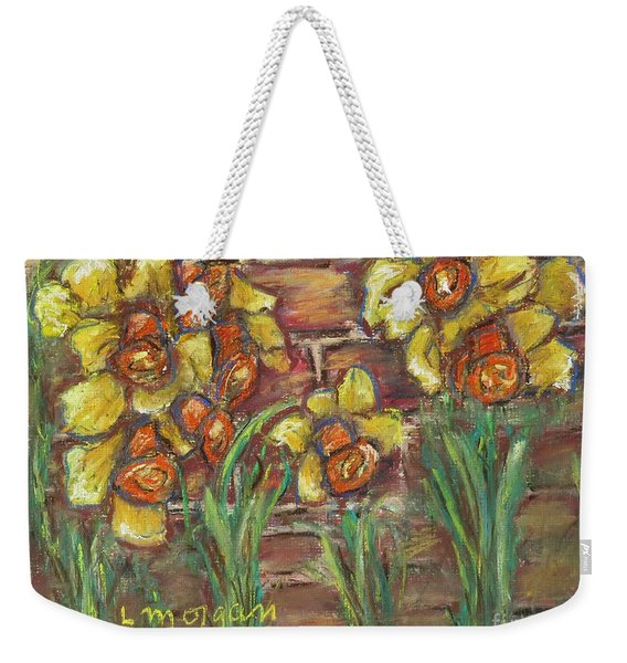 Two Toned Daffodils Weekender Tote Bag