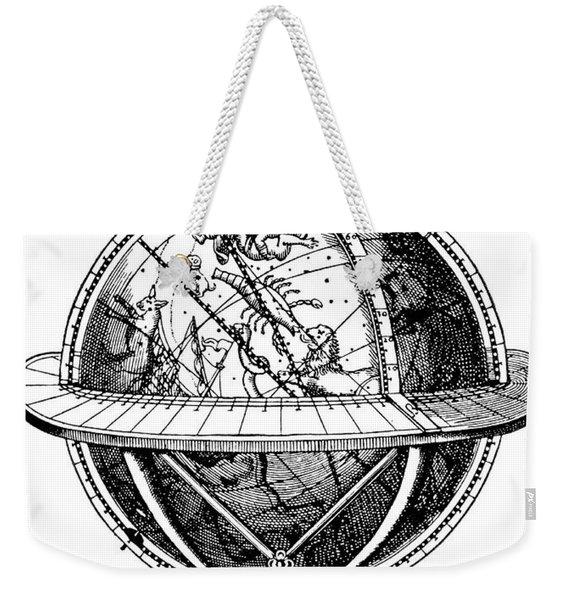 Tycho Brahe, Celestial Globe Weekender Tote Bag