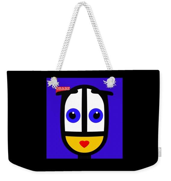 Ubabe Blue Weekender Tote Bag
