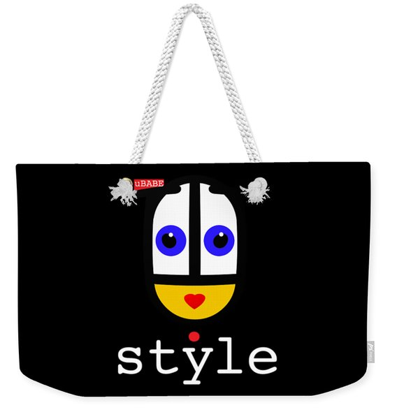 Ubabe Dot Style Weekender Tote Bag