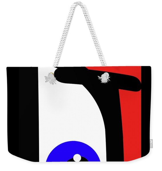 Ubabe French Weekender Tote Bag