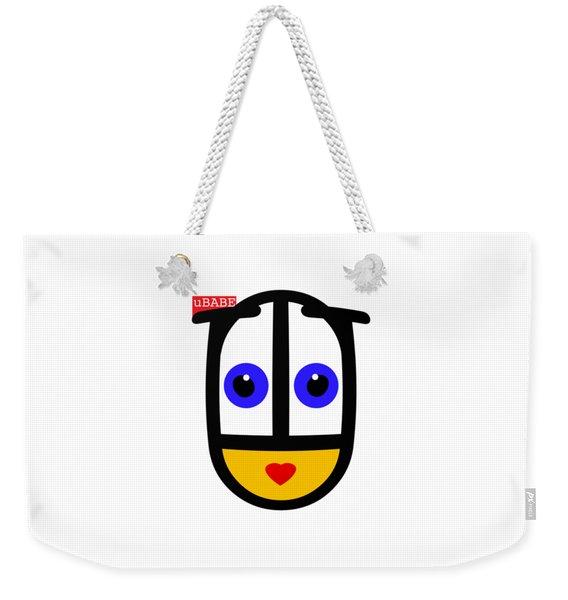 uBABE Logo Weekender Tote Bag