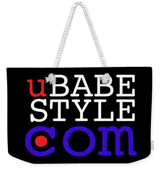 Ubabe Style Dot Com Weekender Tote Bag