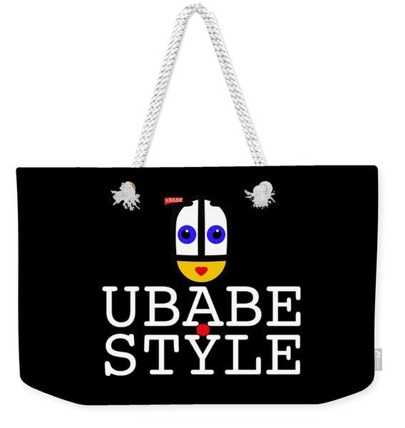 Ubabe Style Url Weekender Tote Bag