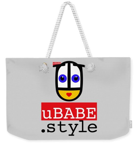 Ubabe T Shirt Weekender Tote Bag