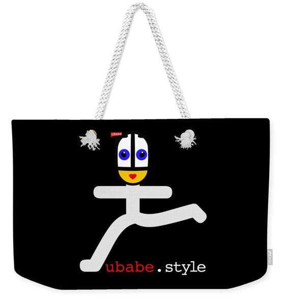Ubae Style Runner Weekender Tote Bag