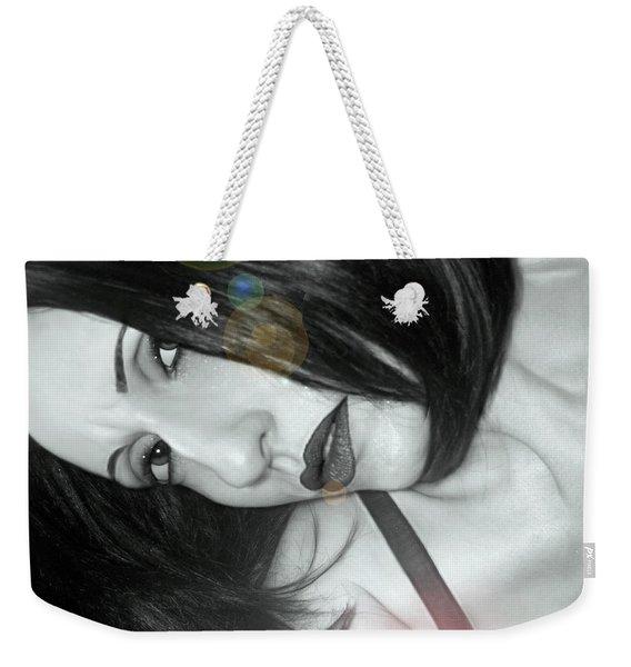 Uncertainty - Self Portrait Weekender Tote Bag