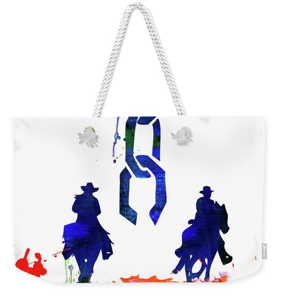 Unchained Watercolor Weekender Tote Bag