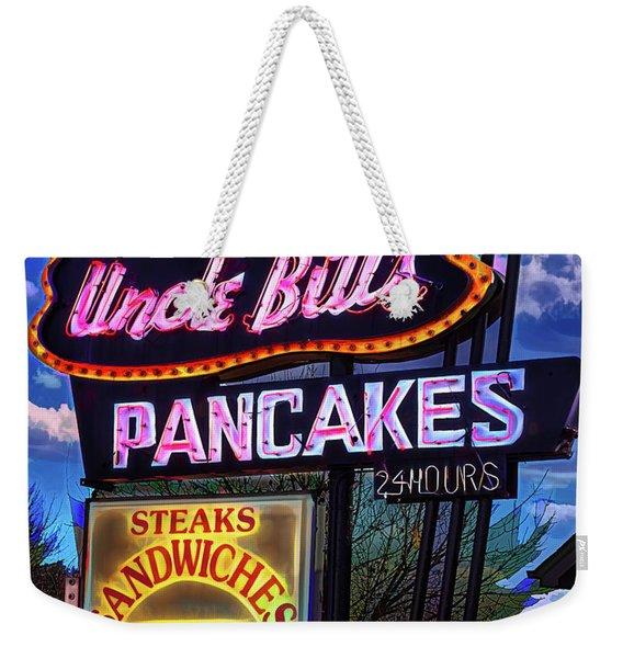 Uncle Bill's Weekender Tote Bag