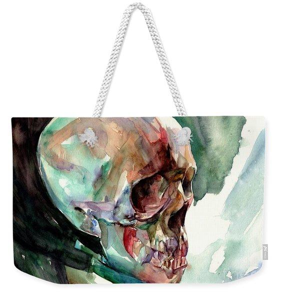 Unconfirmed Skull Weekender Tote Bag