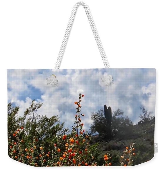 Under  A White Fluffy Cloud Weekender Tote Bag