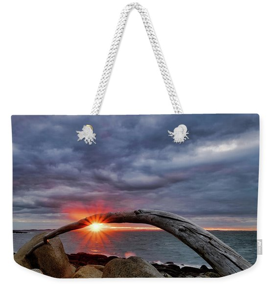 Under The Arch, Sunset Weekender Tote Bag
