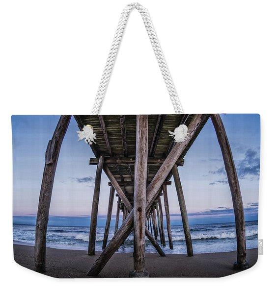 Under The Pier Weekender Tote Bag