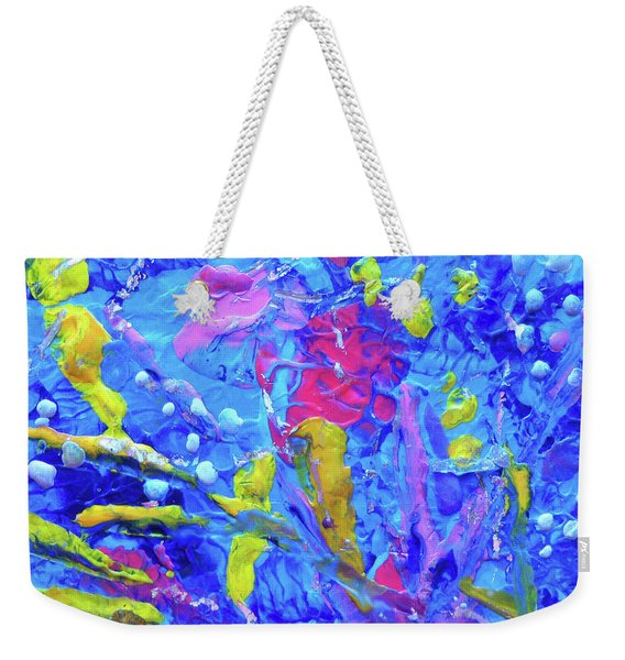 Under The Reef - Detail Weekender Tote Bag