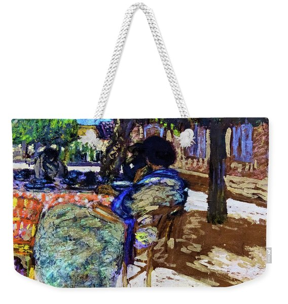 Under The Trees Of The Red House - Digital Remastered Edition Weekender Tote Bag