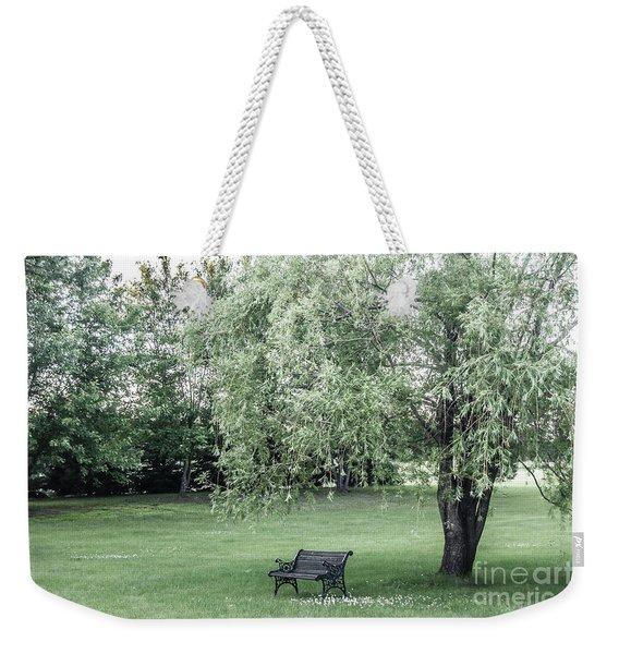 Under The Willow Tree Weekender Tote Bag