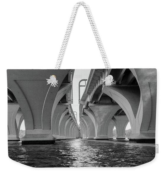 Under The Woodrow Wilson Bridge Weekender Tote Bag