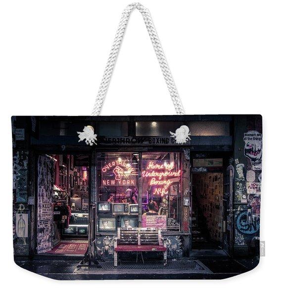 Underground Boxing Club Nyc Weekender Tote Bag