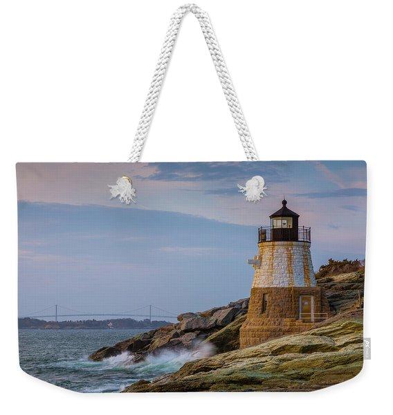 Unfazed By The Encroaching Sea Weekender Tote Bag