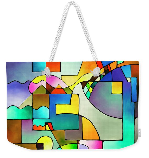 Unified Theory Weekender Tote Bag