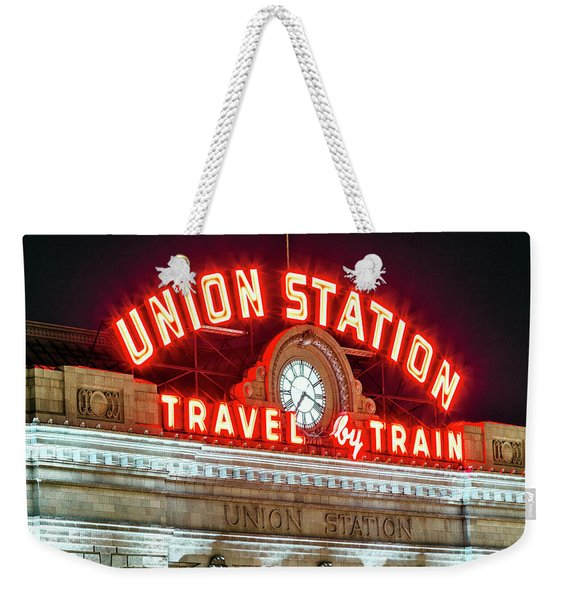 Union Station Denver #4 Weekender Tote Bag