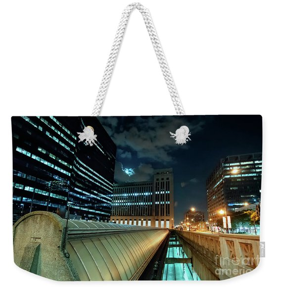 Union Station Train Vents Weekender Tote Bag