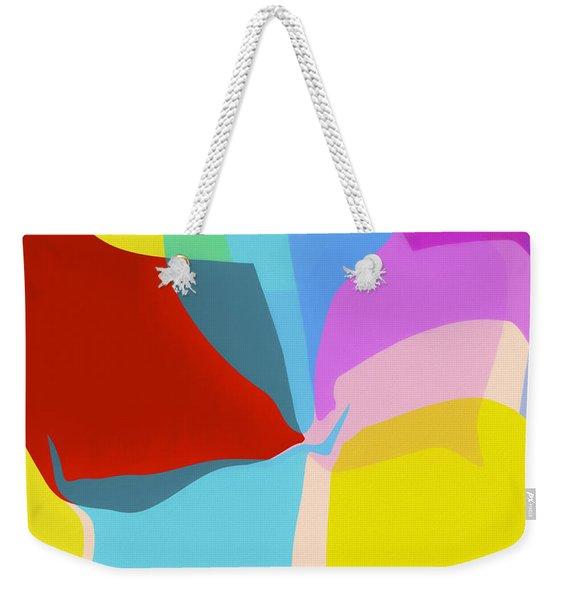 Untitled Abstract  45 Weekender Tote Bag