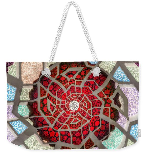 Untitled Meditation Weekender Tote Bag