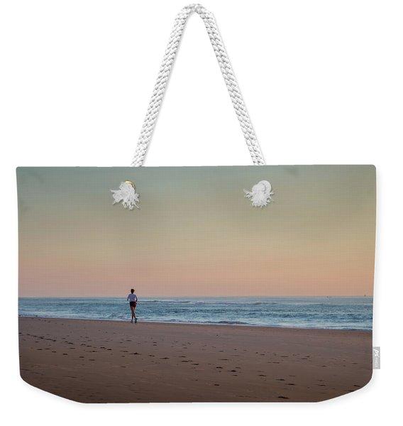 Up And Running Weekender Tote Bag