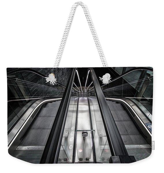 Up Or Down Weekender Tote Bag