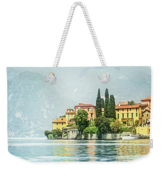 Upon The Golden Shores Weekender Tote Bag