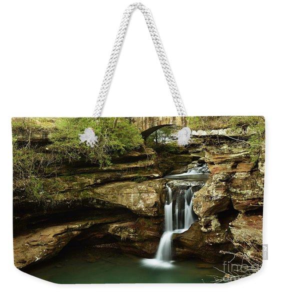 Upper Falls Overview Weekender Tote Bag