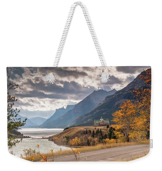 Upper Waterton Lakes Weekender Tote Bag
