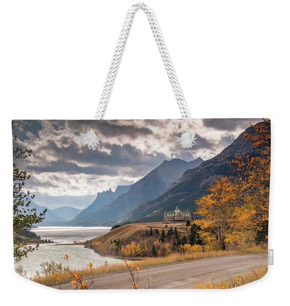 Upper Waterton Lakes Weekender Tote Bag
