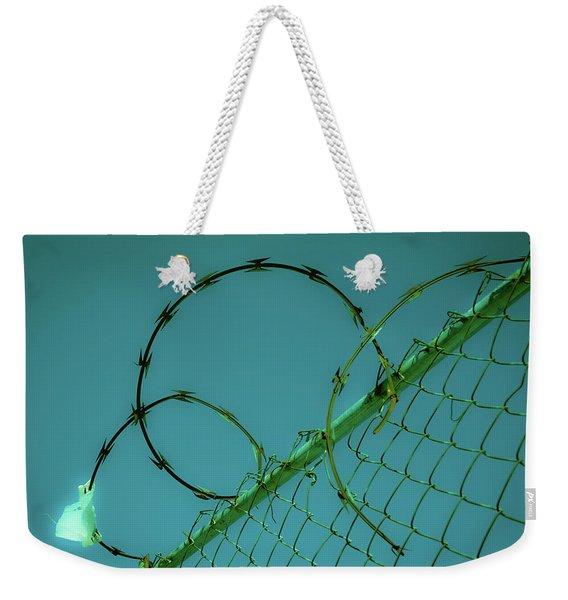 Urban Geometry Weekender Tote Bag