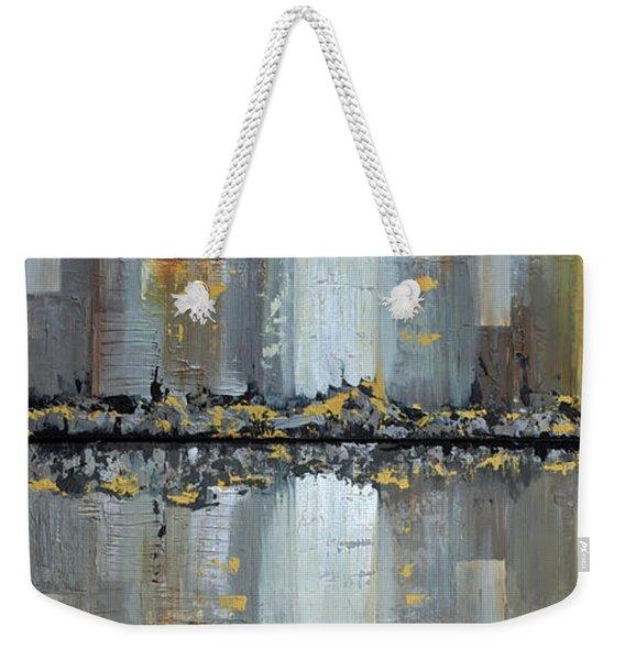Urban Reflections Diptych Weekender Tote Bag