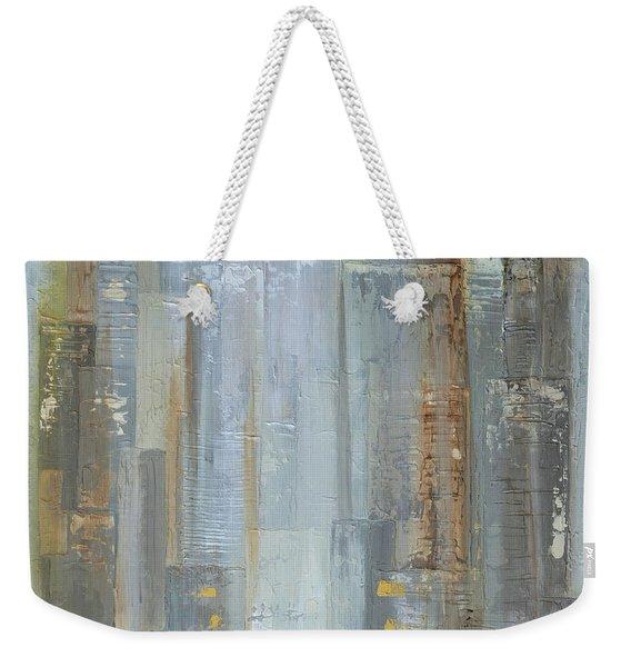 Urban Reflections II Upside Down Weekender Tote Bag