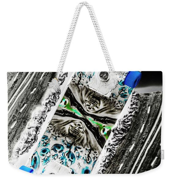 Urban Tracks Weekender Tote Bag