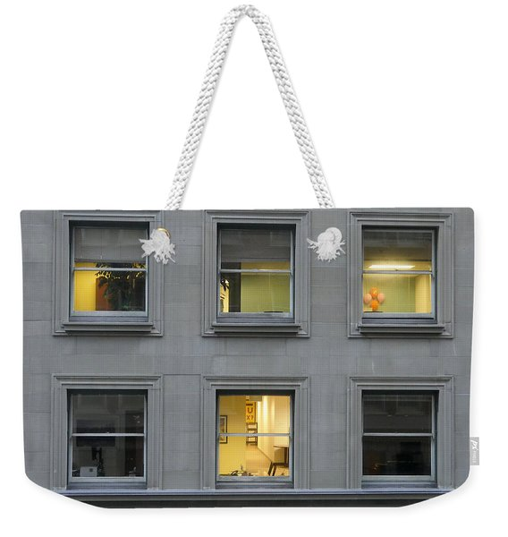 Urban Windows Weekender Tote Bag