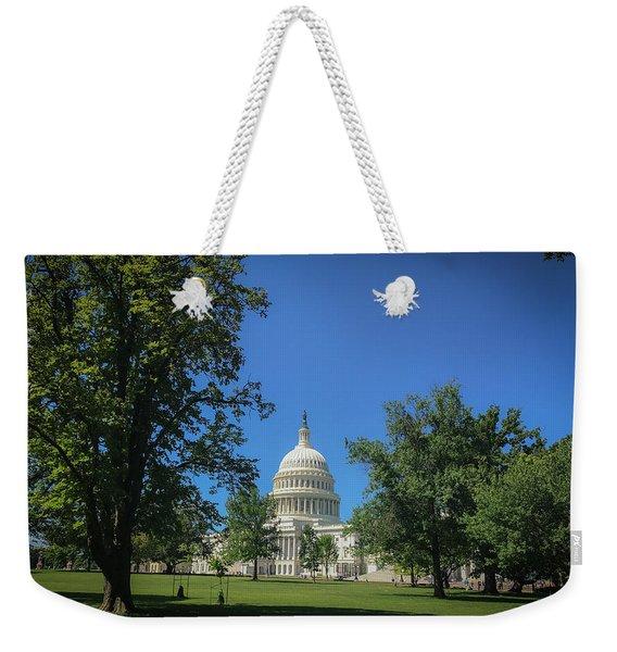 Us Capitol Weekender Tote Bag