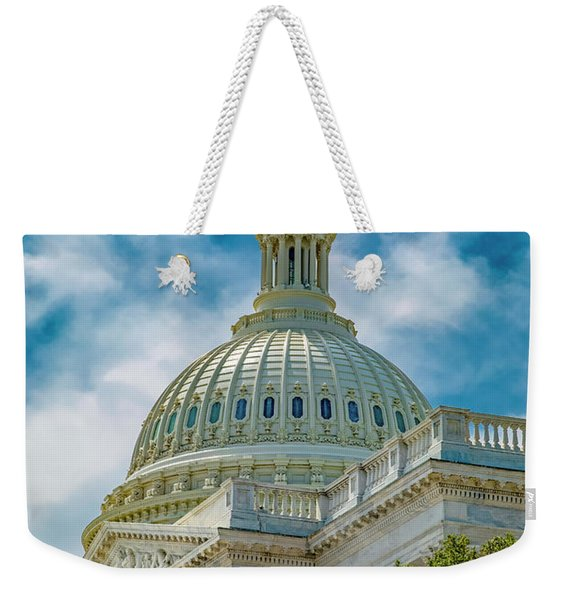 Us Capitol Tulips Take The Stage Weekender Tote Bag