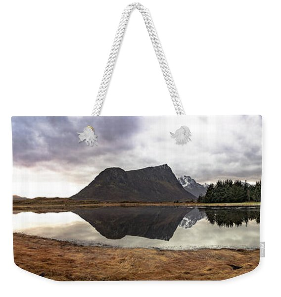 Uttakleiv Reflections Weekender Tote Bag