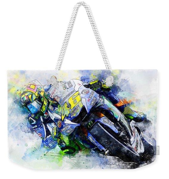 Valentino Rossi - 20 Weekender Tote Bag