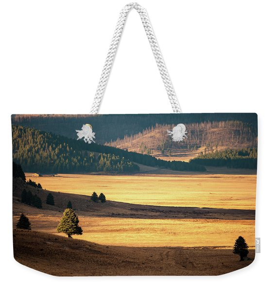 Valles Caldera Detail Weekender Tote Bag