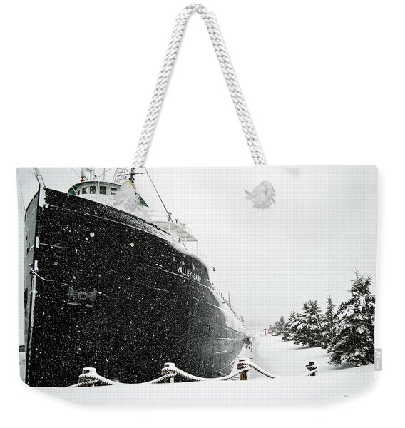 Valley Camp Freighter Weekender Tote Bag
