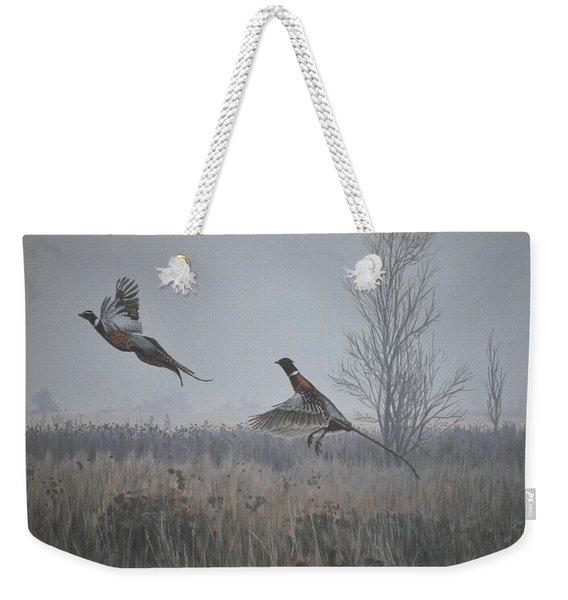 Valley Pheasants Weekender Tote Bag
