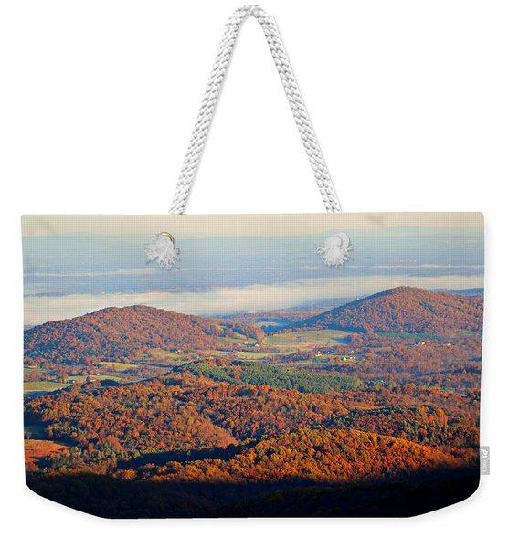 Valley View Weekender Tote Bag
