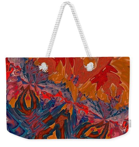 Weekender Tote Bag featuring the digital art Van Mam by A zakaria Mami