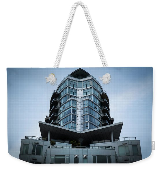 Weekender Tote Bag featuring the photograph Vancouver Architecture by Juan Contreras