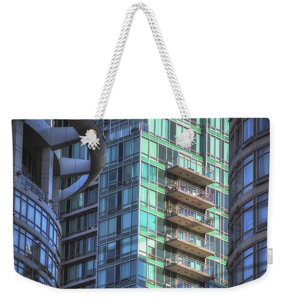Vancouver Architecture No 2 Weekender Tote Bag